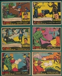 1936 R60 G-Men & Heroes of the Law Lot of (12)