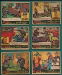 1936 R60 & R13 G-Men & Heroes of the Law Lot of (23)