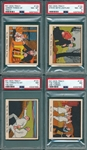 1937 R41 Dick Tracy Lot of (4) PSA 8s