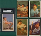 1953 Bowman Color Complete Set W/ Mantle SGC 4