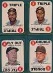 1968 Topps Game Lot of (15) W/ Frank Robinson (2)