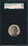 1909-11 Colgans Chip Addie Joss SGC 20