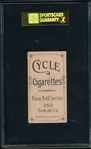 1909-1911 T206 Kroh Cycle Cigarettes SGC 50