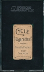 1909-1911 T206 Beckley Cycle Cigarettes SGC 10