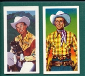 1950s Roy Rogers & Western Stars, Lot of (2) Complete Sets
