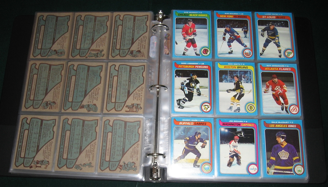 1979-80 Topps Hockey Complete Set (264) W/ Gretzky *Rookie*