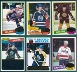 1980-81 Topps Hockey Complete Set (264) *Unscratched*