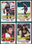1981-82 Topps Hockey Complete Set (198)