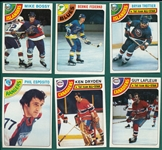1978-79 Topps Hockey Complete Set (264) W/ Stickers & (22) Card Subset