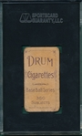 1909-1911 T206 Frank La Porte DRUM Cigarettes SGC 20 *Only Two Graded*