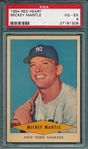 1954 Red Heart Mickey Mantle PSA 4