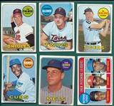 1969 Topps Lot of (27) W/ #573 Palmer