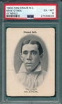 1906 Fan Craze, ONeil, National League, PSA 6