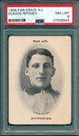 1906 Fan Craze, Ritchey, National League, PSA 8