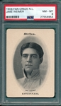 1906 Fan Craze, Weimer, National League, PSA 8