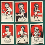 1949 D. Cummings & Son Famous Fighters, Complete Set (64)