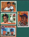1996-99 Topps Aaron, Ryan, Clemente & Mays Commemorative Sets