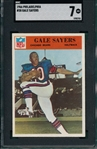 1966 Philadelphia #38 Gale Sayers SGC 7 *Rookie*
