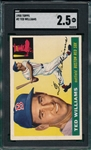 1955 Topps #2 Ted Williams SGC 2.5 *Presents Much Better*