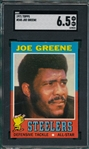 1971 Topps FB #245 Joe Greene SGC 6.5 *Rookie*