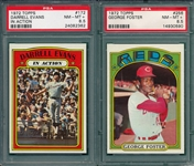 1972 Topps Lot of (5) W/ #256 Foster PSA 8.5