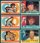 1960 Topps Lot of (110) W/ #555 Fox, AS, High Number