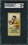 1906-1911 T88 #113 Gimme A High Ball, Sweet Caporal Cigarettes Mutt & Jeff, SGC 40