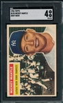 1956 Topps #50 Mickey Mantle SGC 4