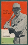 1928 Men of America Booklet #35 with Bobby Jones & Rogers Hornsby