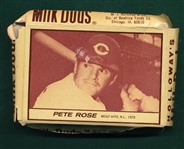 1971 Milk Duds Complete Box W/ Pete Rose
