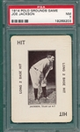 1914 Polo Grounds Game Joe Jackson PSA 7