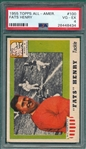 1955 Topps All American #100 Fats Henry PSA 4