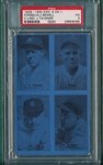 1929-30 Exhibits 4 On 1, W/ Joe Sewell PSA 3 *Blue*