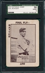 1913 National Game Joe Jackson SGC 50