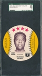 1976 Isalys/Sweet William Discs Hank Aaron SGC 98 *MINT*