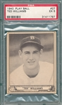 1940 Play Ball #27 Ted Williams PSA 5