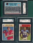 1966 Philadelphia Lot of (7) SGC 80 W/ #173 Brodie