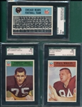 1966 Philadelphia Lot of (7) SGC 80 W/ #85 Forrest Gregg