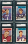 1966 Philadelphia Lot of (7) SGC W/ #61 Meredith