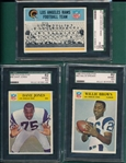 1966 Philadelphia Lot of (5) SGC 82 W/ #96 Dave Jones