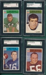 1966 Philadelphia Lot of (4) SGC 86 W/ #141 Jim Ringo