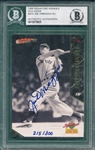 1995 Signature Rookies #JD2 Joe DiMaggio BGS Authentic Autograph