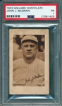 1923 V100 John McGraw Willard Chocolate PSA 1