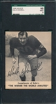 1959 Kahns Football Dale Dodrill SGC 96 *MINT* *None Graded Higher*