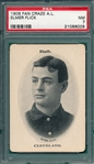 1906 WG2 Fan Craze AL Elmer Flick PSA 7