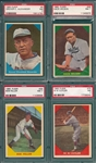 1960 Fleer Baseball Greats Lot of (4) W/ #5 Alexander PSA 7