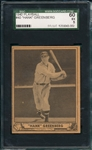 1940 Play Ball #40 Hank Greenberg SGC 60