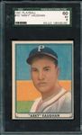 1941 Play Ball #10 Arky Vaughn SGC 60