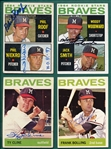 1964 Topps Lot of (13) Autographed Pirates W/ Schwall