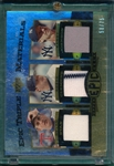 2006 UD Epic Triple Material Clemens/R. Johnson/Ryan (58/75)